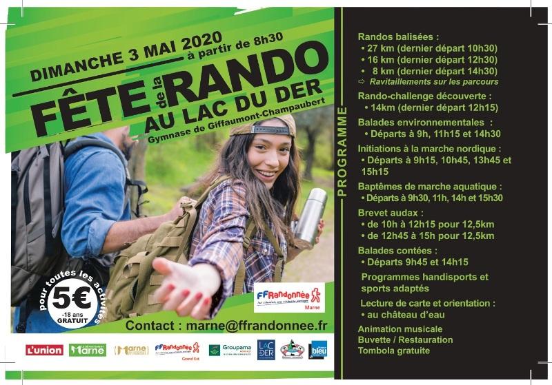 Fête de la Rando au Lac du Der (51) - Dim 3/05/2020 - ANNULÉ Rando15