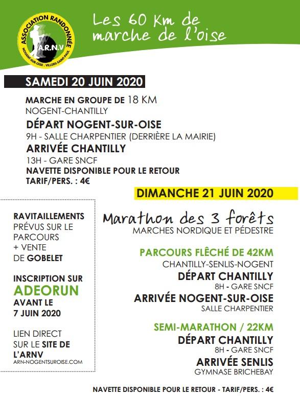 Les 60 Km de marche de l'Oise - 20/21 Juin 2020 - ANNULÉ Rando210