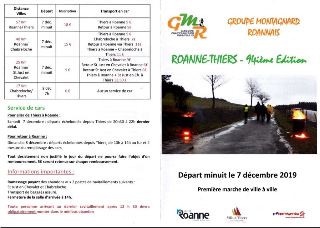 94ème Roanne - Thiers - 57 Km - Sam 7 Dec 2019 (minuit) Roanne10
