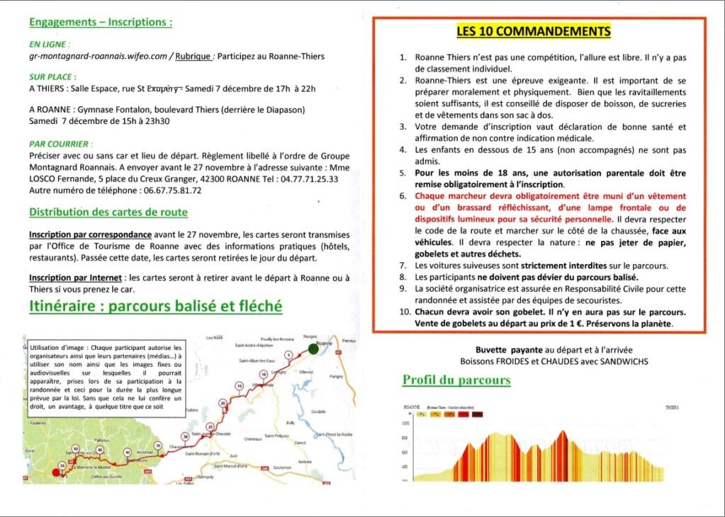 94ème Roanne - Thiers - 57 Km - Sam 7 Dec 2019 (minuit) Roanne11