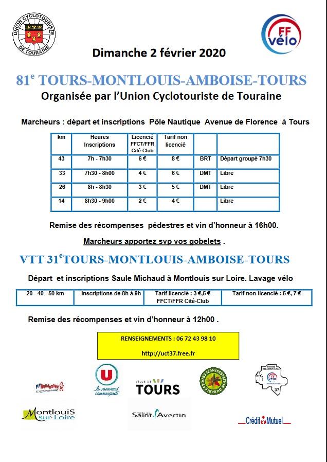 81ème TMAT - Tours-Montlouis-Amboise-Tours - Dim 2 Fév 2020 Tmat11