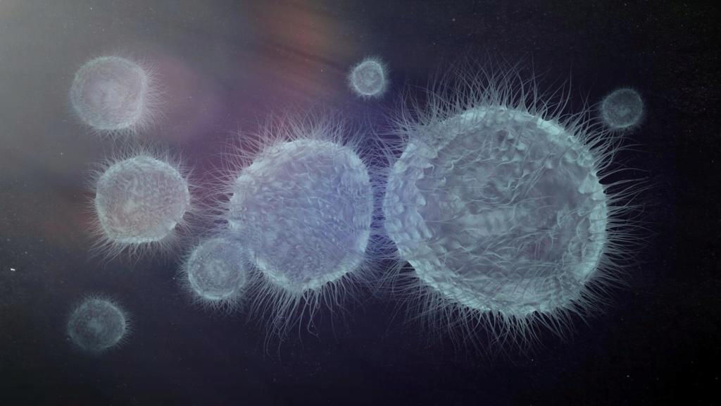 [ CINEMA4D ] Créez un Virus (Générateur de Volume / Mailleur de Volume + Extrusion Matricielle) C4D r20 Algus-11