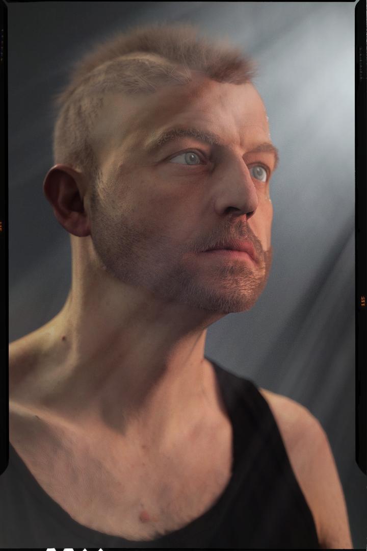 [ CINEMA4D ] (WIP) C4D r20 + VRAY 3.7 : Portrait, Moustaches, Cheveux... Male_h10