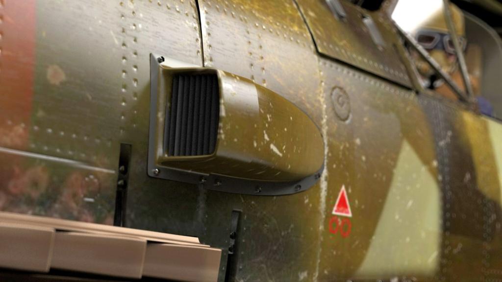 [ CINEMA4D ] (WIP) Messerschmitt BF-109 E / VRAY Me-10910