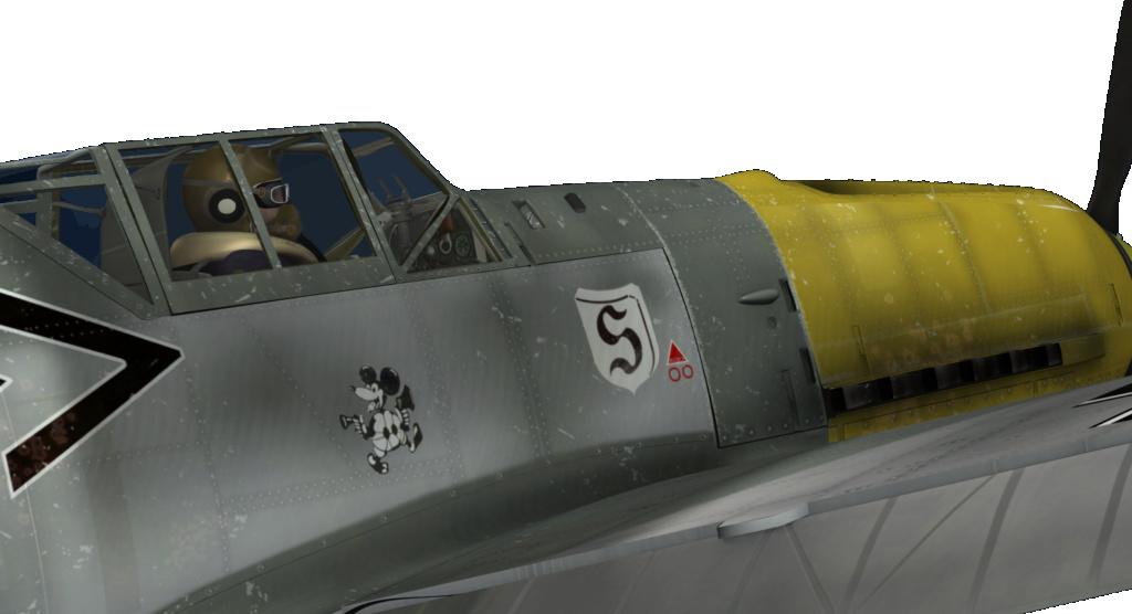 [ CINEMA4D ] (WIP) Messerschmitt BF-109 E / VRAY Me-10911