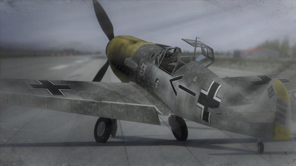 [ CINEMA4D ] (WIP) Messerschmitt BF-109 E / VRAY Me109-11