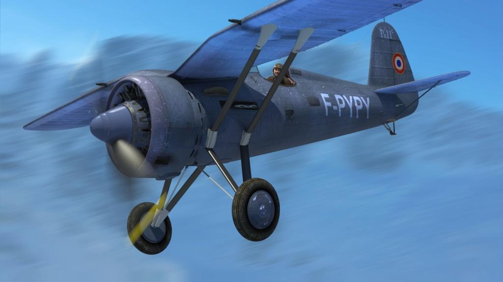 [ CINEMA4D ] (WIP) Avion PZL P11c (Pologne 1931) Pzl-p112