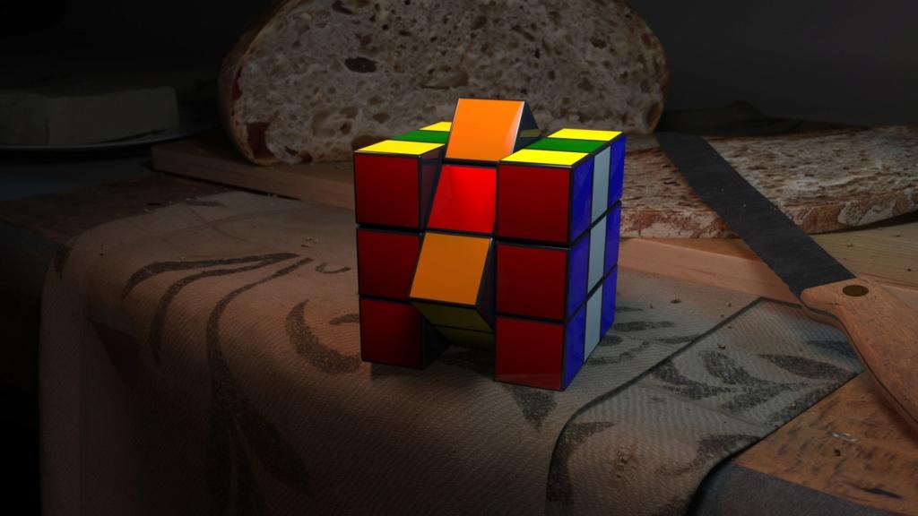 """[ CINEMA4D ] Rubik's Cube résolu en moins de 10"""" ! Rubiks10"""