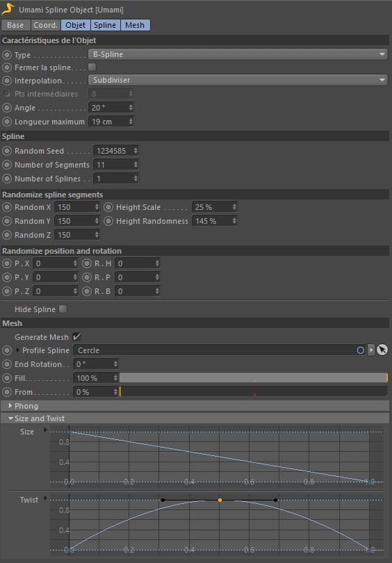 [ CINEMA4D ] UMAMI 1.2 plugin  Umami-11