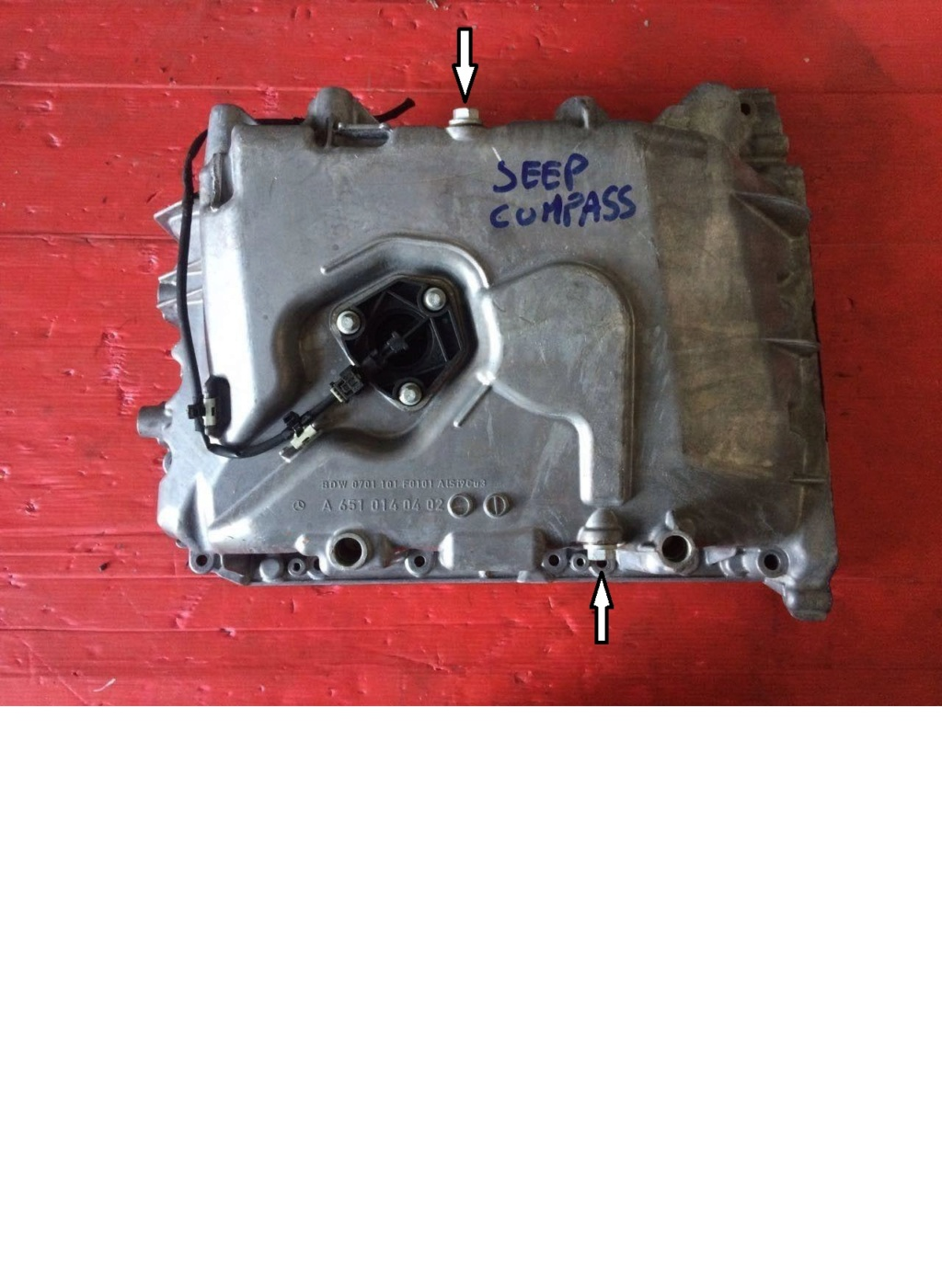 Jeep Copass 2.2 CRD 163 cv  Procedura sostituzione filtro gasolio Coppao14