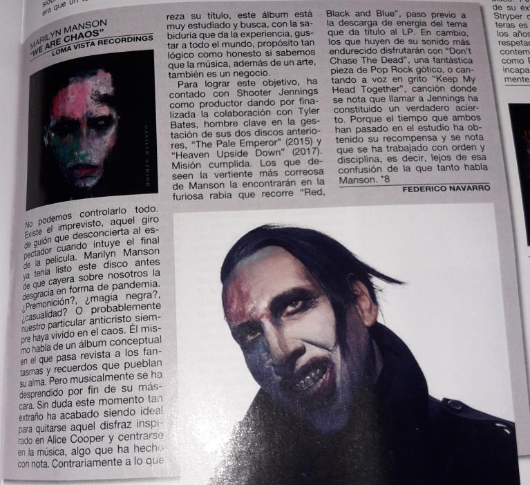Marilyn ⚡️ Manson (el tópic del Reverendo) - Página 17 Marily10