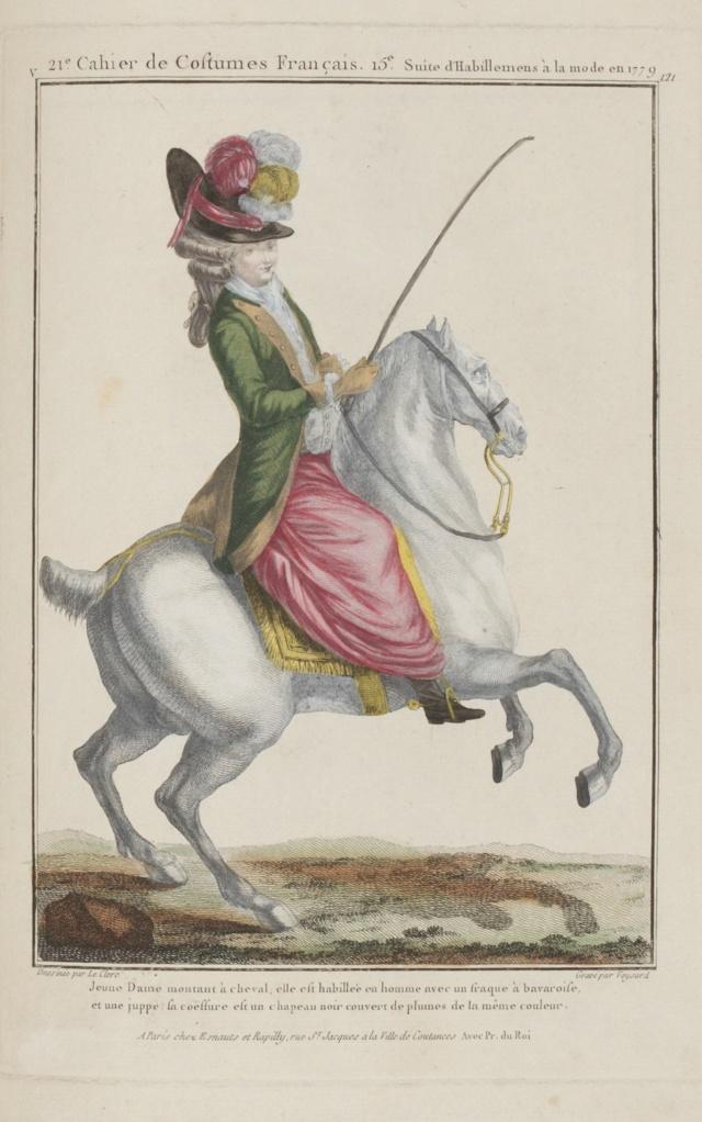 Série d'estampes : portraits équestres de Robin de Montigny  237-0011