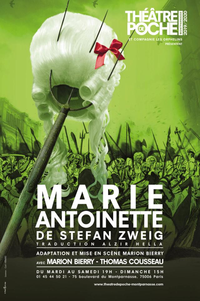 Marie-Antoinette de Stefan Zweig au Théâtre de Poche Aff-ma10