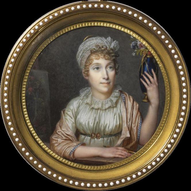 Anne Vallayer-Coster, chef du cabinet de peinture de Marie-Antoinette Anne_v11