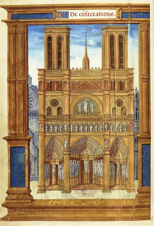 La restauration de la cathédrale Notre-Dame de Paris Bnf_1610
