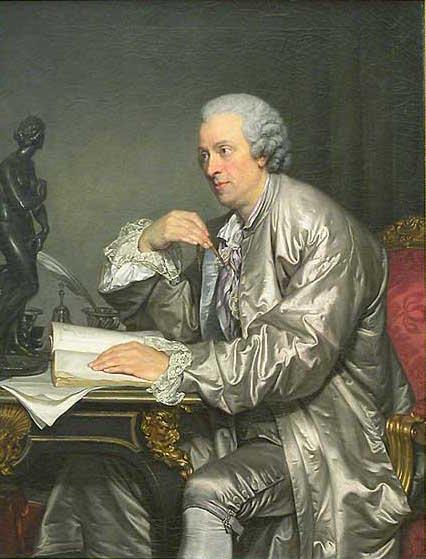 Manteau d'intérieur et robe de chambre pour les hommes au XVIIIe siècle - Page 2 Claude10