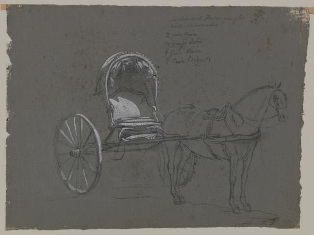 Les véhicules du XVIIIe siècle : carrosses, berlines, calèches, landaus, cabriolets etc. - Page 2 Eatude10