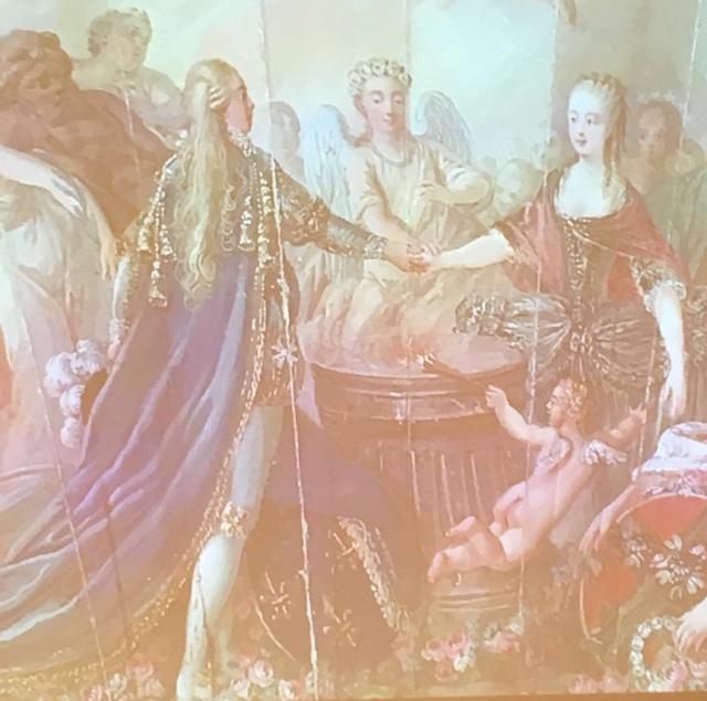 L'habit de mariage de Marie-Antoinette Eavent11