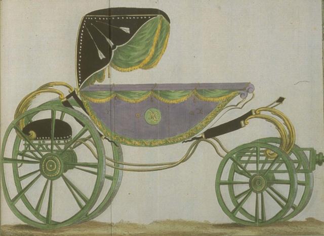 Les véhicules du XVIIIe siècle : carrosses, berlines, calèches, landaus, cabriolets etc. - Page 2 En_voi15