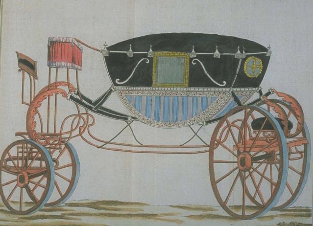 Les véhicules du XVIIIe siècle : carrosses, berlines, calèches, landaus, cabriolets etc. - Page 2 En_voi16