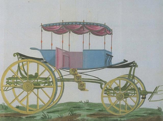 Les véhicules du XVIIIe siècle : carrosses, berlines, calèches, landaus, cabriolets etc. - Page 2 En_voi18
