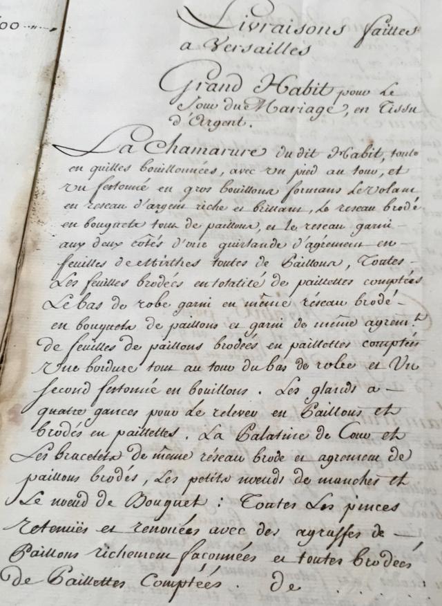 L'habit de mariage de Marie-Antoinette Img_1812