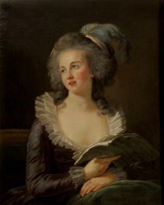 Enquête sur un tableau retrouvé de Marie-Antoinette attribué à Jean-Laurent Mosnier (vers 1776) - Page 3 Mme_de11