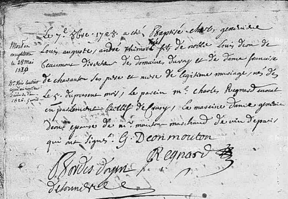 Charles d'Éon de Beaumont, dit le chevalier d'Éon - Page 4 Nore-d10
