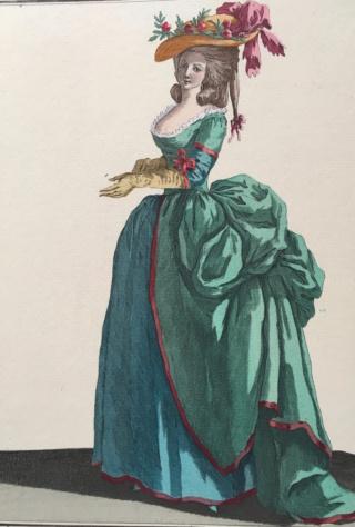 Enquête sur un tableau retrouvé de Marie-Antoinette attribué à Jean-Laurent Mosnier (vers 1776) - Page 3 Robe_a10
