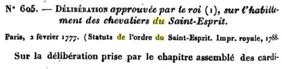 Louis XVI et l'ordre du Saint-Esprit Screen11