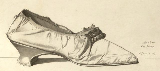 Les souliers et chaussures de Marie-Antoinette  - Page 5 Soulie10
