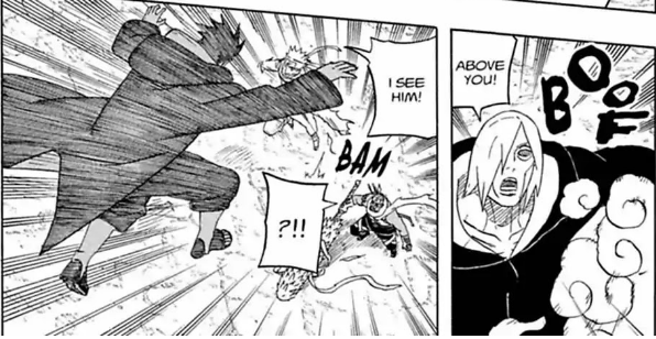 Itachi vs Killer Bee: Destrinchando a luta! Itachi11