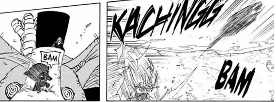 Itachi vs Killer Bee: Destrinchando a luta! Itachi22