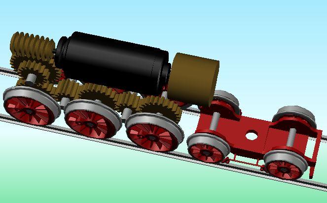 Sächsischer Rollwagen in Spur N 20-07-12