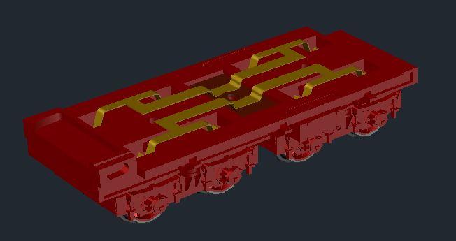Sächsischer Rollwagen in Spur N 20-10-11