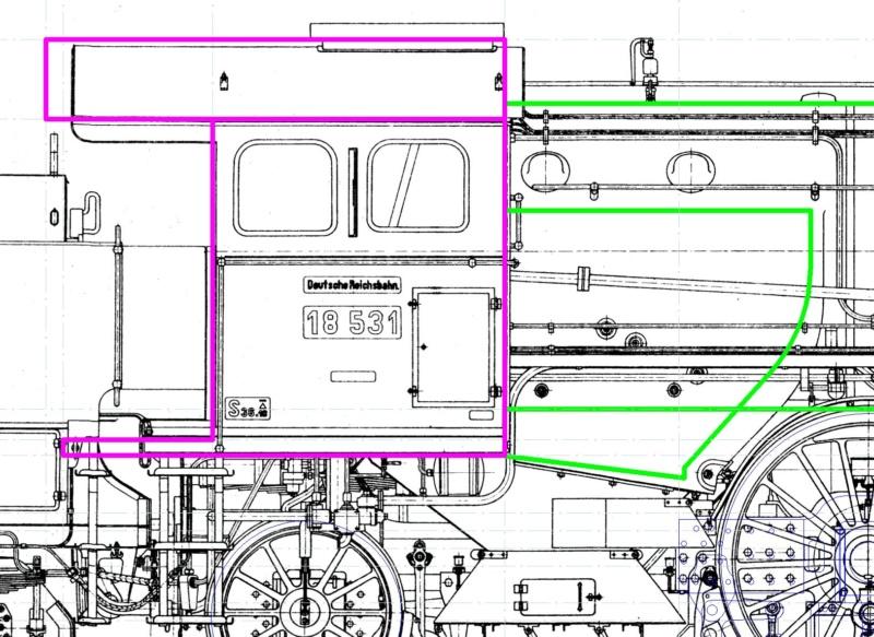 Bayerische S 3/6 OcCre Baukasten bauen. Detail11