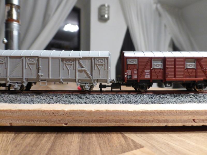 """""""Schrottlok"""" und SchienenLKW - Standmodelle in 1/45 zur BW-Deko P1010110"""