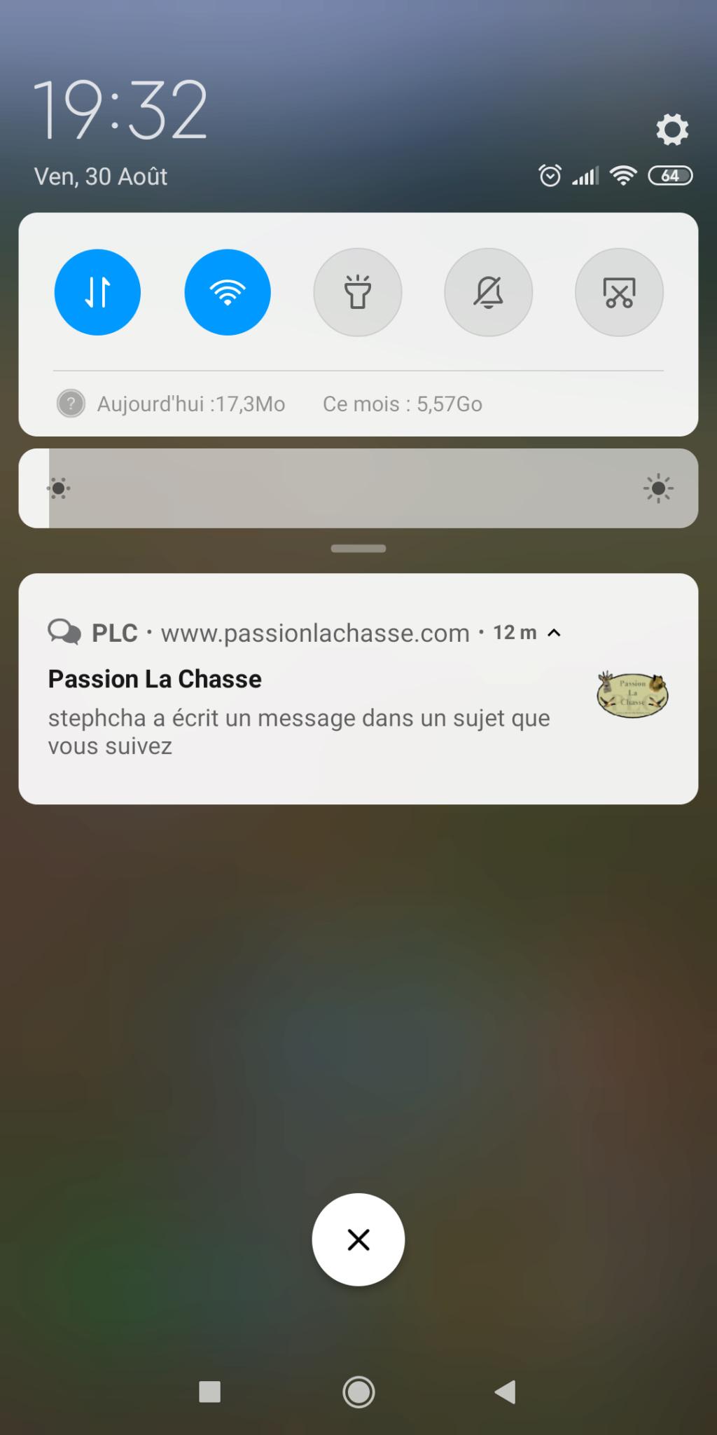 Version Mobile et application dédié PLC !  Screen10