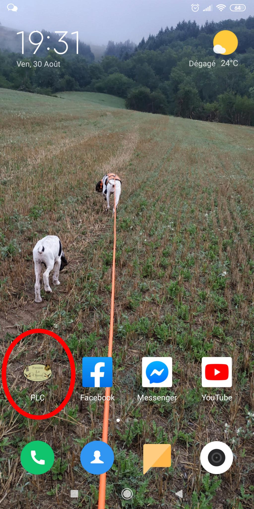 Version Mobile et application dédié PLC !  Screen12