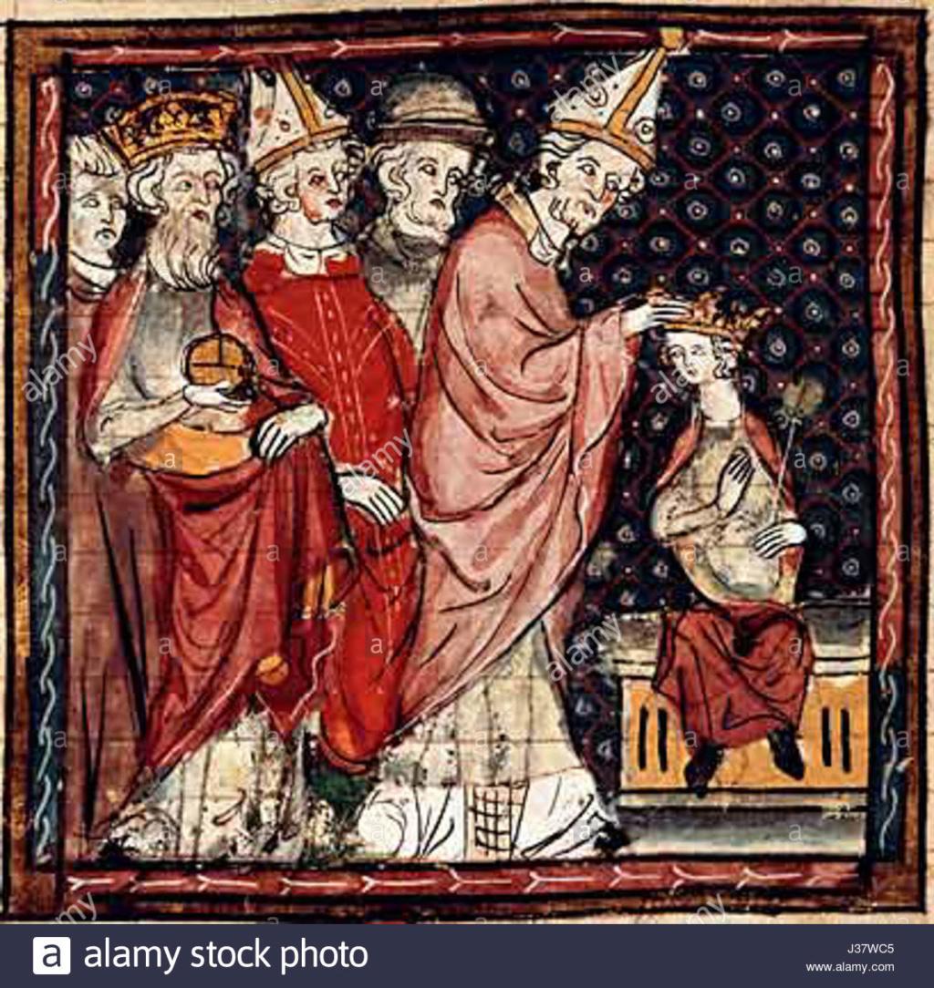 Le roi ''Très chrétien'': baptisé à Reims par saint Remi en 496/ Le premier sacre à Reims: Louis le Pieux en 816 /  Le prince Louis XX présent à Reims le 15 mai 2011, pour COMMÉMORER en assistant à la Sainte Messe. / Couron10
