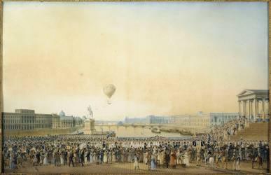 Peindre l'histoire 3 : le 3 mai 1814 Louis XVIII entre à Paris Entree10