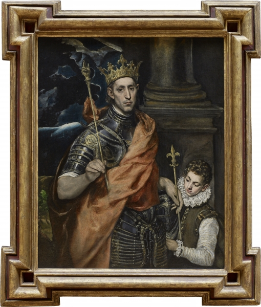Peindre l'Histoire 2 = Naissance du Roy Louis IX Salle112
