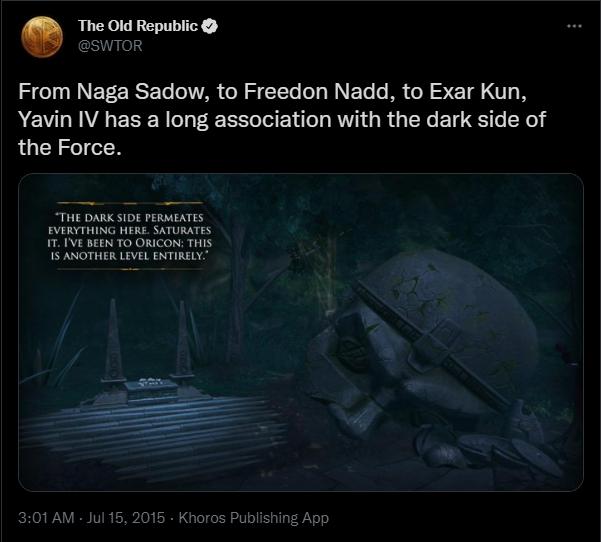 Exar Kun Super Respect Thread (2021) Screen14