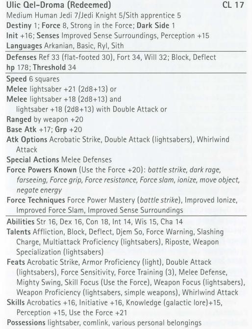 SS - Ulic Qel-Droma (LadyKulvax) vs. Darth Maul (Lorenzo) Uqdsta10