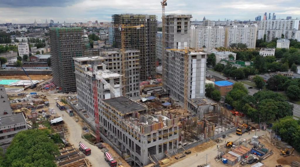 Веб-камеры на площадке строительства ЖК «Серебряный фонтан»  - Страница 13 33310