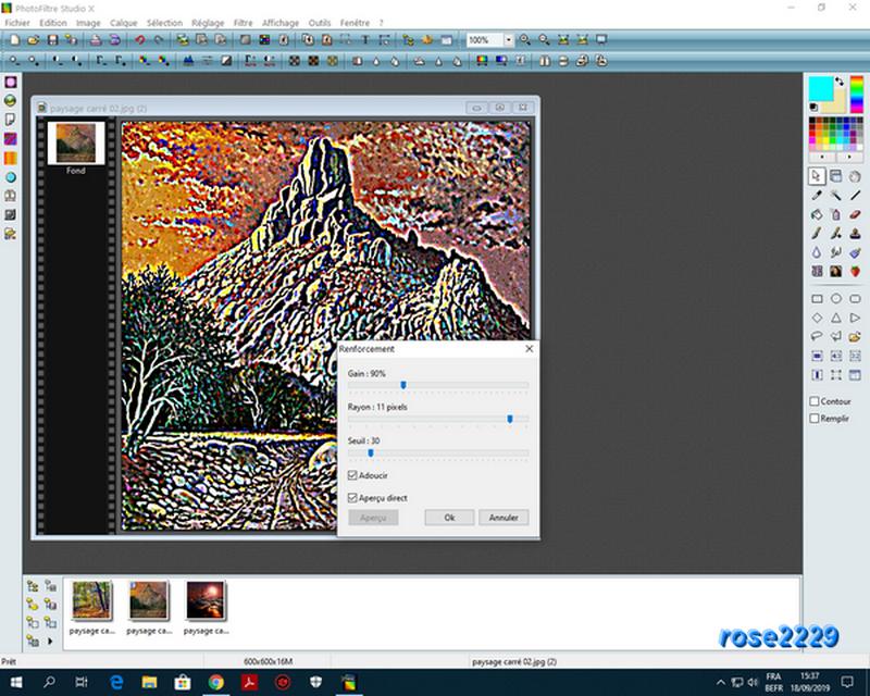 """N° 22 PFS """" Filtre Renforcement sur Image """" - Page 2 Captur17"""