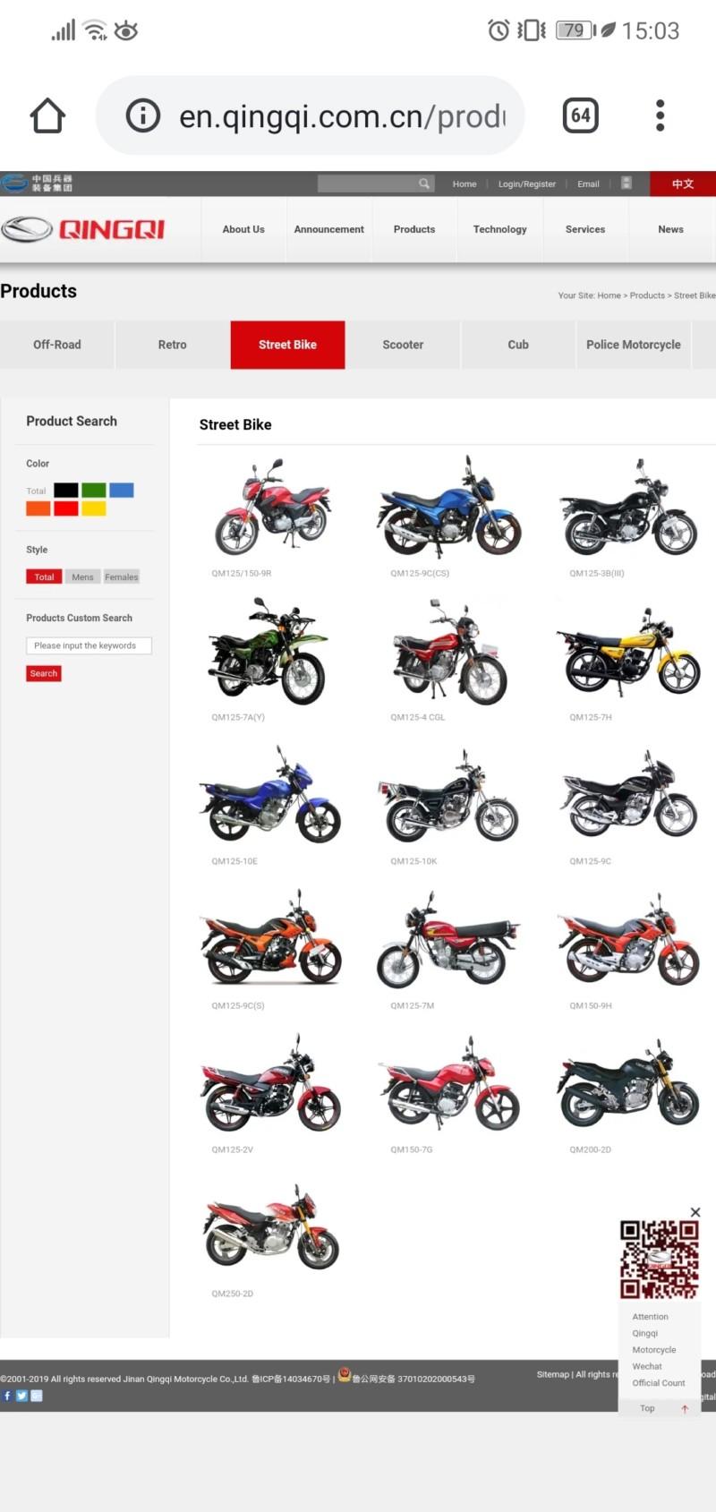 Qingqi Sport 125 / I-moto Strada  - Página 16 20190911