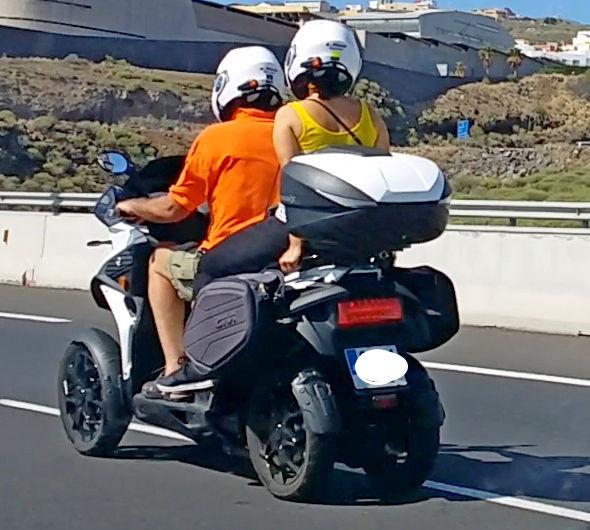 New Yamaha 3 wheel scooter 4w110