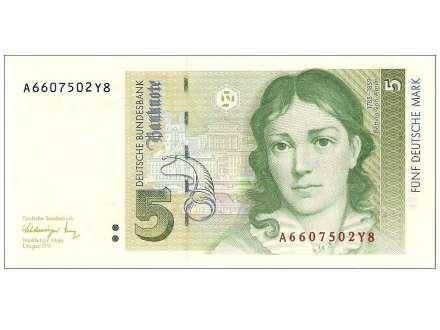 Billete Europeo - Divisa predilecta 5dm10