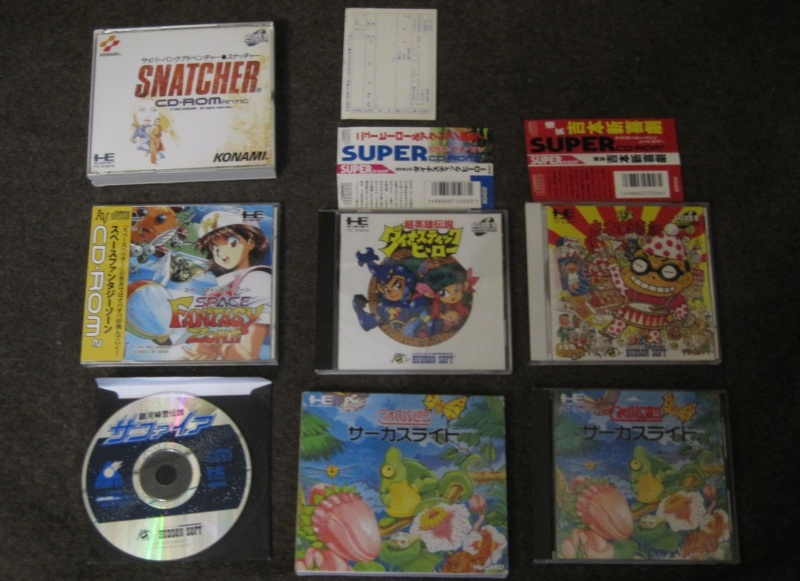 [VDS lot Pc Engine bible PC Engne Collector sous blister + 2 jeux CD rOM Img_2830